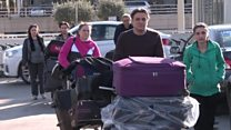 بي بي سي تلتقي عائلة سورية أرغمت على العودة الى بيروت