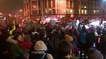 Welsh demonstrators voice Trump anger