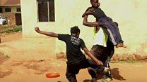 Uganda's child stunt actors