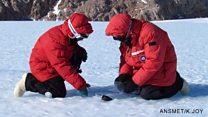 Antarctica's meteorite 'conveyor belt'