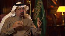 وزير الطاقة السعودي : علاقة السعودية مع الولايات المتحدة  قوية جدا