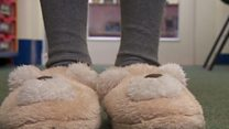 The schools swapping shoes for slippers