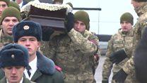 В Киеве простились с погибшими в Авдеевке военными