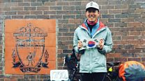 'I cycled from South Korea to Anfield'