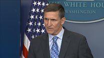 Iran 'put on notice', says White House