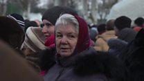Life in Ukraine as fighting escalates