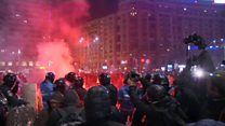 Romania clashes flare over corruption decree