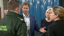 Medic tells Harry: 'Man tried to kill me'