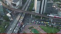 ထိုင်းနိုင်ငံက လမ်းအန္တရာယ်