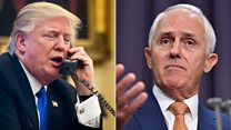 Australia PM: 'Trump did not hang up'