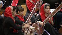 استقبال گرم از ارکستر زهره، گروه موسیقی دختران افغان
