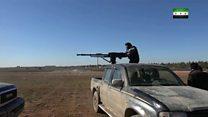 سوريا: معارك شرسة قرب مدينة الباب