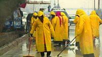 استخدام بیسابقه 70 زن برای نظافت کابل