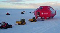 Cómo se muda una base científica en la Antártica