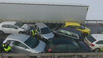 У Польщі на автотрасі зіштовхнулися 24 машини