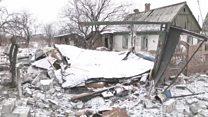Восток Украины: разрушения по обе стороны линии фронта