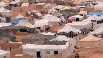 ဒုက္ခသည် ၈ သောင်း ဂျော်ဒန်နယ်စပ် ပိတ်မိနေ
