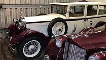 Classic cars go up for sale