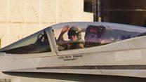 US jet crash pilot's systems 'not 100%'