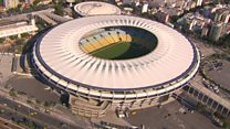 Rio's iconic stadium abandoned