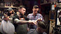 Barber trains homeless to cut hair