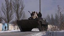 شرق اوکراین صحنه درگیری های سنگین