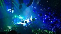 Crowd heralds 'doddering god' Ozzy