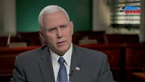 Pence: Travel ban 'puts Americans first'