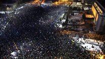 罗马利亚抗议继续