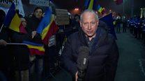 Romania protesters demand more