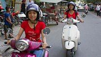Lawan tabu, Kamboja punya layanan ojek perempuan