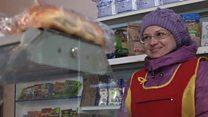 Ukraine front line shop that's always open