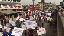 Zanga-zangar matsin tattalin arziki a Lagos