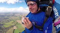 One magical skydiving record