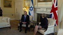 دیدار با ترزا می در لندن؛ بنیامین نتانیاهو در پی تشکیل جبهه متحد علیه ایران