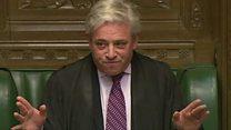 英下院議長、トランプ氏の議会演説に異例の反対