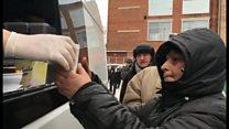 零下30度で生活するロシアのホームレス