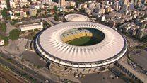El lamentable estado del Maracaná, el templo del fútbol de Brasil, a 5 meses de las Olimpiadas de Río 2016