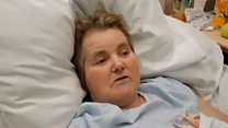 Dying patient's video message to the NHS