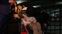 کودک ایرانی محتاج عمل چشم با یک هفته تاخیر به نیویورک رسید