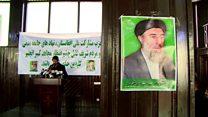 هواداران گلبدین حکمتیاردر انتظار ورود او به کابل