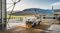 'Last Concorde' makes its final journey