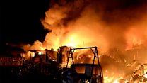 Filipinler'de yangın: 15 bin kişi evsiz kaldı