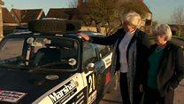 ၇၂ နှစ်အရွယ် အမျိုးသမီးကြီးက သူပြိုင်ခဲ့တဲ့ကားနဲ့ တကြော့ပြန်မောင်းဖို့ ပြင်