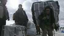 Iran : le parcours périlleux des passeurs