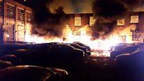 Watch: Fire on St John Street
