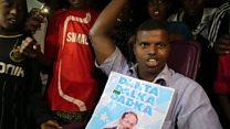 الصوماليون يحتفلون بالرئيس التاسع للبلاد