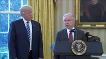 Jeff Sessions vows to 'end lawlessness'