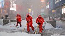 Зимова казка у Нью-Йорку
