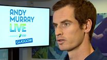 Andy Murray on taking Roger Federer sightseeing